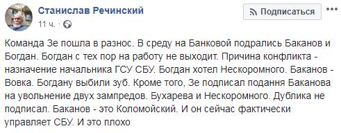 Зуб за зуб: Богдан экстравагантно отреагировал на слухи о своей драке с Бакановым