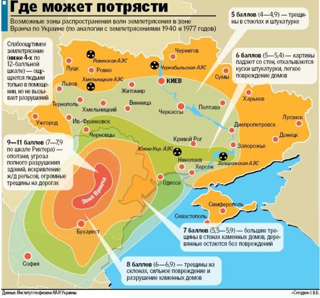 Сейсмологи предупредили украинцев о сильном землетрясении: карта