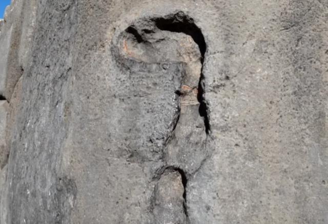 Древние инки оставили следы от неизвестного инструмента: фото