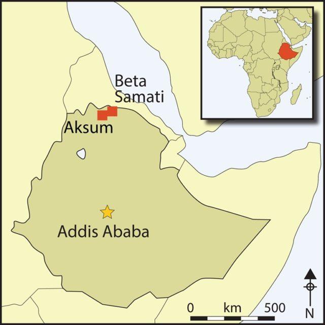 В Эфиопии найден неизвестный город древней аксумской цивилизации