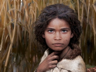 Ученые воспроизвели внешность девушки каменного века