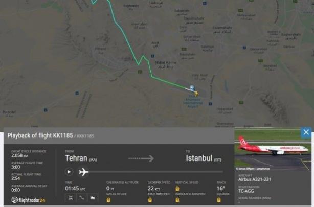 СМИ узнали еще о двух самолетах во время ракетной атаки на Боинг МАУ