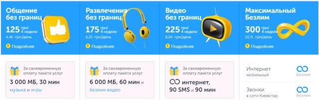 «Киевстар» массово закрывает предоплаченные тарифы