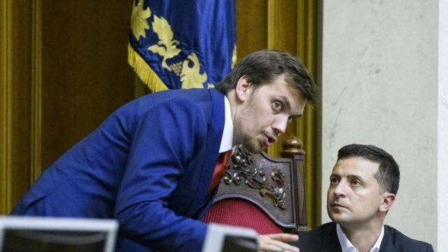 Зеленский обменял рейтинг на Гончарука, — Небоженко
