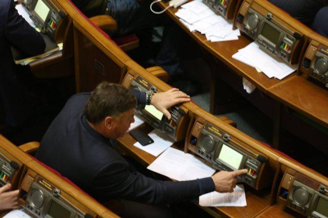 Разумков рассказал о судьбе кнопкодавов в Раде