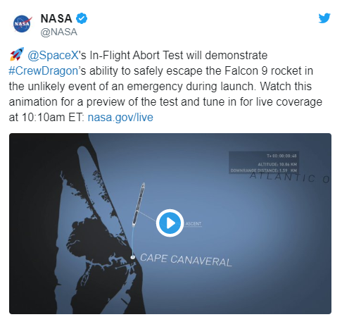 Илон Маск испытал корабль SpaceX на прочность: видео