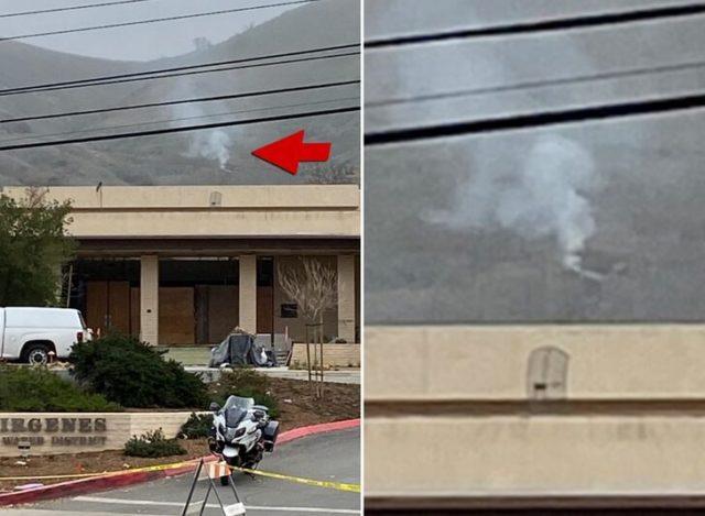 Появились первые детали, фото и видео с места гибели Коби Брайанта