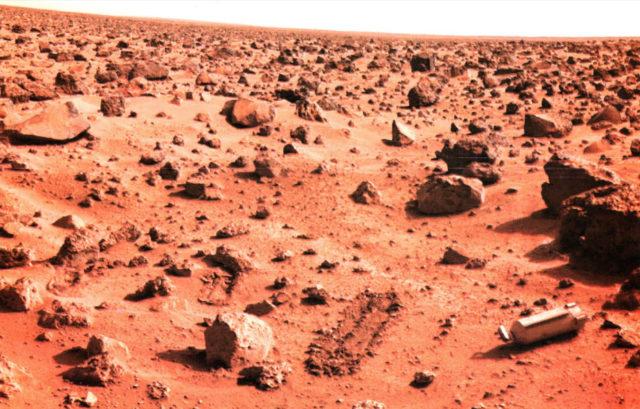 Ученые сделали неожиданное открытие в Долине Маринеров на Марсе