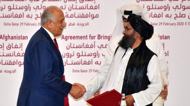 США и «Талибан» подписали историческое соглашение: видео