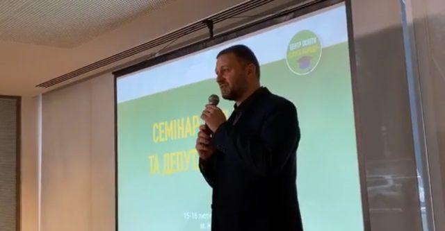 Корниенко анонсировал перестановки в «Слуге народа»