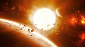 Излучение от Солнца через 7 млрд лет разорвет все крупные астероиды