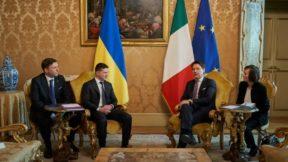 Зеленский призвал премьера Конте закрыть «офисы «ДНР» и «ЛНР» в Италии