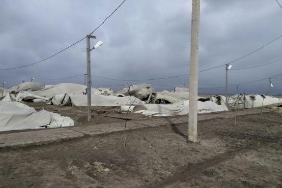 Циклон «Юлия» разгромил палаточный городок ВСУ
