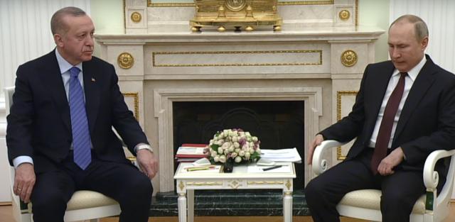 Путин и Эрдоган договорились о режиме прекращения огня в Идлибе