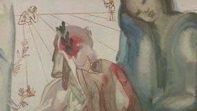 Картину Сальвадора Дали нашли на барахолке