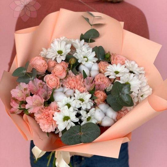 Доставка цветов в Казани и Уфе