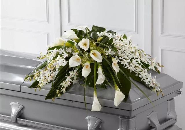 Живые цветы на похороны