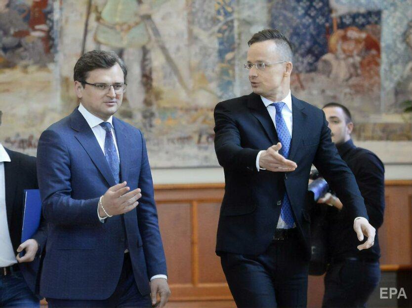Визит министра иностранных дел Венгрии в Украину: о чём договорились, а о чём не очень?