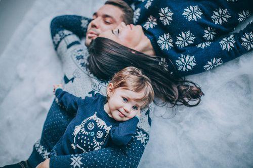 Уютная семейная фотосессия недорого