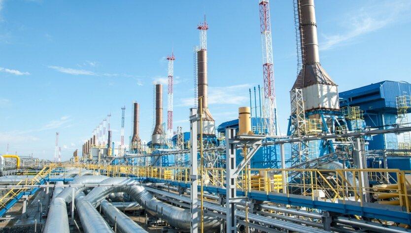 Доходы «Газпрома» от экспорта газа резко упали
