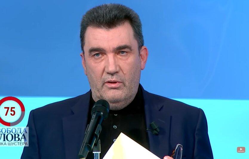 Данилов раскрыл детали заседания СНБО
