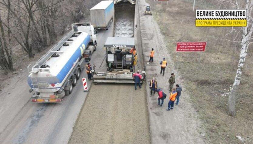 Укравтодор затеял масштабный ремонт дороги вокруг Киева