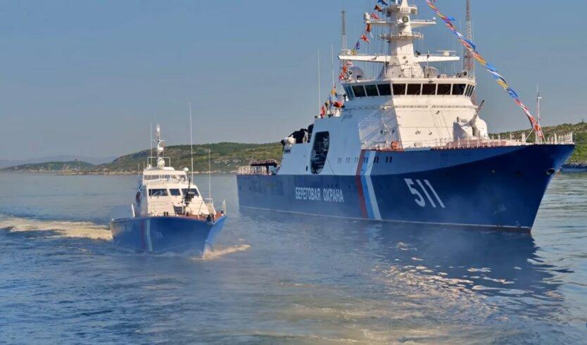 В Азовском море боевые корабли РФ устроили провокацию украинским морякам