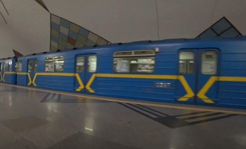 В Киеве подростки устроили скандал в метро