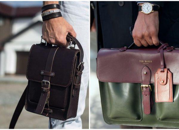 Качественные мужские сумки от известных брендов